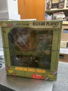Ultimate Soldier Military Playset 32X WWII Operation Torch - Tunisia Super Rare!