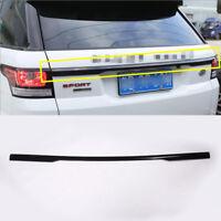 Gloss Black Rear Trunk Lip Cover Trim for Land Rover Range Rover Sport 2014-2017