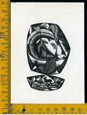 Ex Libris Originale Alexandro Radulescu c 092