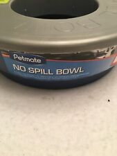 Petmate Dog or Cat No Spill Bowl Splash Proof Design Water Dish