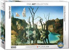 Dali Swans Reflecting Elephants 1000 piece jigsaw puzzle 680mm x 480mm (pz)