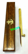 """Nautical Divider Marine Single Handed Straight 8"""" Divider Solid Brass"""