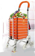 D68 Rugged Aluminium Luggage Trolley Hand Truck Folding Foldable Shopping Cart