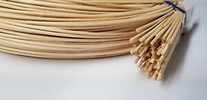 """ROUND REED - Size #5 - 1/8"""" (3.50mm)  ROUND REED 350' foot coil rush basket wick"""