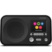 Pure Elan IR5 Portable Internet Radio with Bluetooth and Spotify Connect - Black