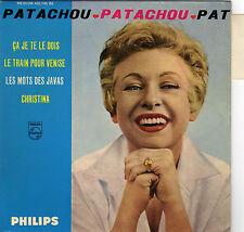 PATACHOU CA JE TE LE DOIS FRENCH ORIG EP JOSS BASELLI