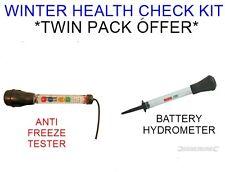 Densímetro de Batería Anti Freeze Probador & * * Kit de evaluación del estado de invierno de vehículo