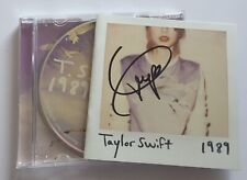 More details for taylor swift - 1989 ( signed autographed ) original 2014 cd album