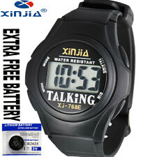 Speaking English Talking Watch Extra 5 Years Free Battery With Gift Box