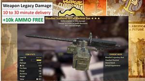 Fallout 76 PC, Weapon Legacy  Damage