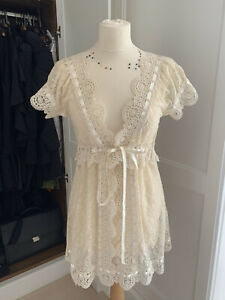 Lace See Though Dress Size S