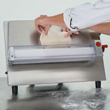 18 Countertop 120 Volt Electric One Stage Pizza Dough Ball Roller Sheeter