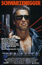 "The Terminator movie poster - Arnold Schwarzenegger - 11"" x 17"""