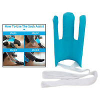 Flexible Sock Aid Kit for Putting On Socks Removing Socks Without Bending