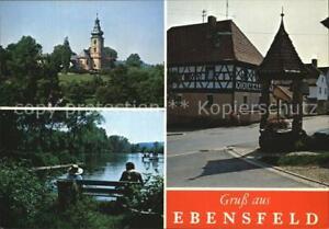 72580559 Ebensfeld Kirche Ortsansicht  Ebensfeld