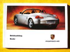 Porsche BOXSTER 1996 , notice guide manuel utilisation , bedienungsanleitung