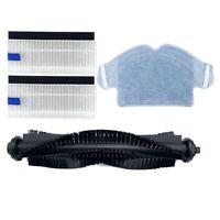 Vacuum Cleaner Main Brush HEPA Filter Side Brush Mop Cloth for 360 S6 Robot H7G3
