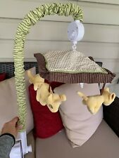 Disney Lion King Simba Baby Infant Crib Mobile Works!