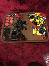 Mixed Lott Of Lego Wheels. Other Vehicle Parts