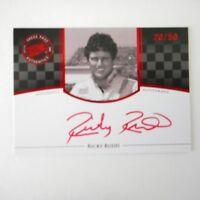Ricky Rudd signed 2009 #5 TIDE PP LEGENDS CERTIFIED RED AUTOGRAPHED Card Ser /50