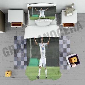 Plaid MARCO MANCOSU LECCE pile coperta calda idea regalo idolo calcio goal letto