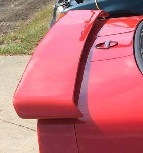 FOR CHEVROLET CORVETTE C4 Un-Painted Custom Style Rear Spoiler Wing 1984-1990