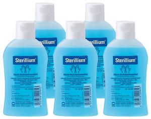 5x Bode Sterillium Kittelflasche 100ml, Hände-Desinfektion, Desinfektionsmittel