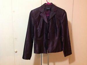 "Ann Taylor Purple Blazer-22"" Sleeve Length & 22"" Shoulder to Waist"
