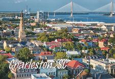 Charleston, SC, City, Skyline, South Carolina, 2x3 Souvenir Fridge Magnet SCCH21
