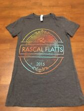 Rascal Flats 2015 Riot Tour T Shirt Womens Small S Excellent Condition