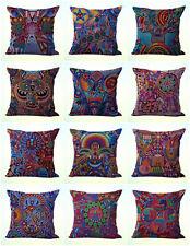 Us Seller- 10pcs modern decorative pillow cushion covers Mexican folk art print