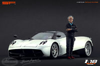 1:18 Horacio Pagani VERY RARE!!! figurine NO CARS !! for diecast collectors