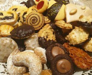 Weihnachtsplätzchen selbstgebacken, Plätzchen selbstgemacht ,Kekse  1000 g. 🍪