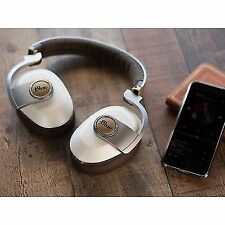 Blue Satellite Wireless Noise Cancelling White Bluetooth Headphone