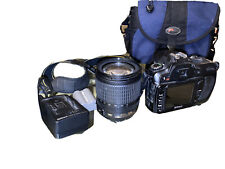 Nikon D D80 10.2MP Digital SLR Camera - Black w/18-105mm lens