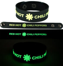 RED HOT CHILI PEPPERS  Bracelet Wristband gg12 Glow in the Dark/Californication