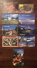 San Francisco, California, CA early 90's late 80's postcards lot of 9 souvenirs