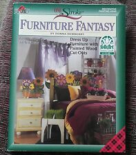 Donna Dewberry One Stroke Furniture Fantasy Decorative Tole Painting Book #9549