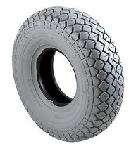 VAT Free  - 2 x  New Mobility Scooter Tyre 330x100 400x5 Grey Diamond  Tread