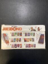 2008 GB James Bond Royal Mail Presentation Pack of stamps