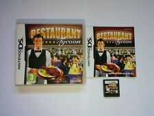 Restaurant Tycoon - Nintendo DS Game - 2DS 3DS DSi - Free, Fast P&P!