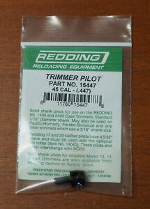 """Redding Trimmer Pilot-.45 Caliber (15447) .447"""" Diameter-(NIP)"""