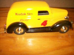 Spec Cast Kodak Racing Ernie Irwin 1937 Chevy Bank No Box