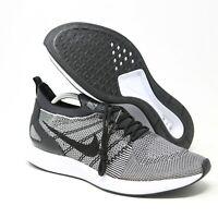 Nike Air Zoom Mariah Flyknit Racer Platinum Black 918264-015 sz 13 Running Shoe