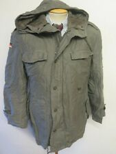"GERMAN ARMY CLASSIC PARKA Military Combat Jacket Coat OLIVE L 42-44"" Euro 52-54"