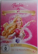 Barbie DVD und der geheimnisvolle Pegasus / 12 Tanzenden Prinzessin neuwertig
