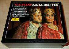 VERDI-MACBETH-3xCD 1990-DOMINGO/VERRETT/CAPPUCCCILLI/CLAUDI-WG FULL SILVER RINGS