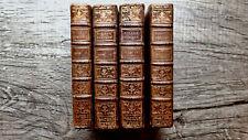 New ListingPrinted 1780 Four Vols Provenance French Scientist Aristocrat Bibliophile Rare