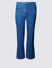 M&S LIMITED EDITION Cropped Flare Jeans PRP £35