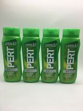 (4) Pert (Classic Clean) 2-In-1 For Normal Hair 13.5 Oz. Each